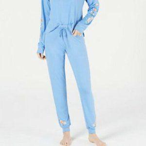 Jenni Intimates Womens Pajama Bottom XL Blue
